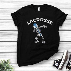 Awesome Halloween Dabbing Skeleton Lacrosse Dab Dance Gift
