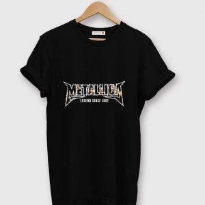 Awesome Metallica Lengend Since 1981 shirt