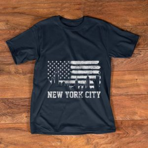 Awesome New York City American Flag shirt