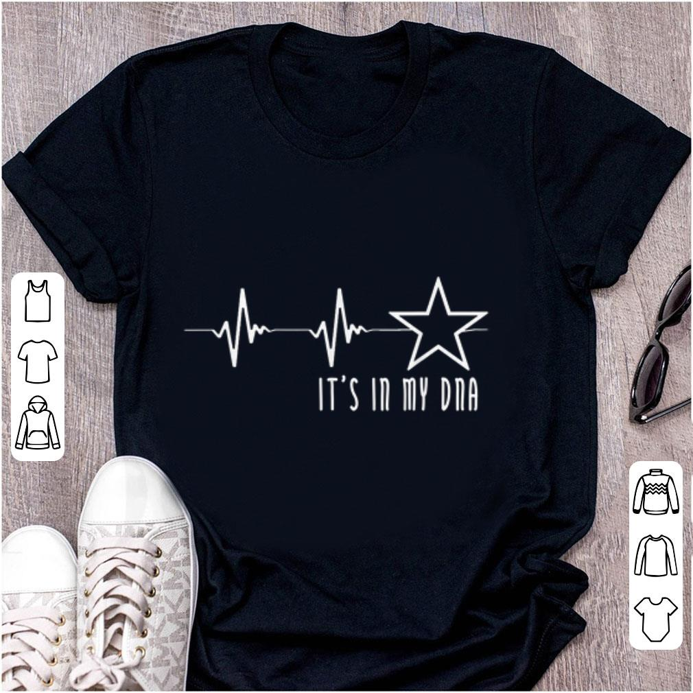 Awesome Texas Cowboy Heartbeat with Lonestar Its In My DNA shirt 1 - Awesome Texas Cowboy Heartbeat with Lonestar Its In My DNA shirt