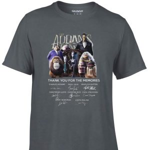 Awesome The Addams Family Thank You For The Memories Signature shirt