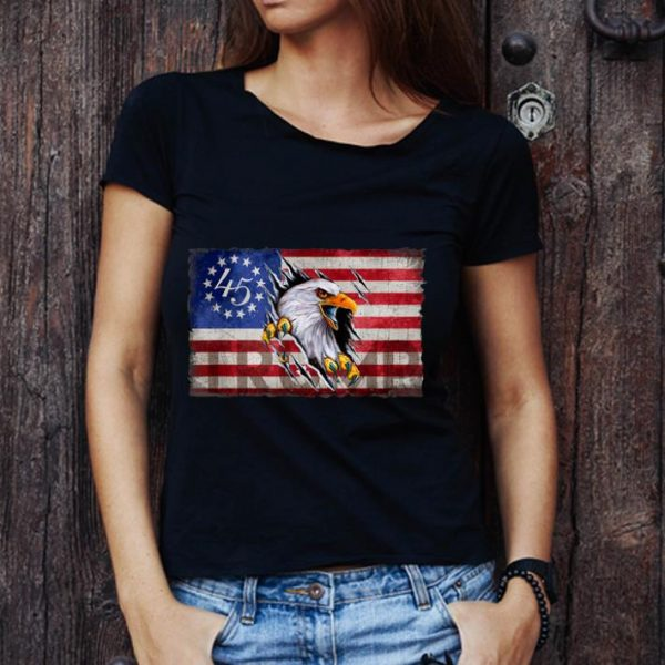 Awesome Trump Eagle Betsy Ross Flag 2020 Presidential shirt
