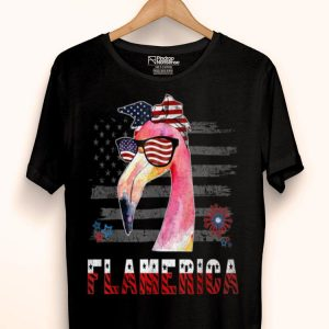 Flamerica 4th Of July Flamingo Independence Day shirt