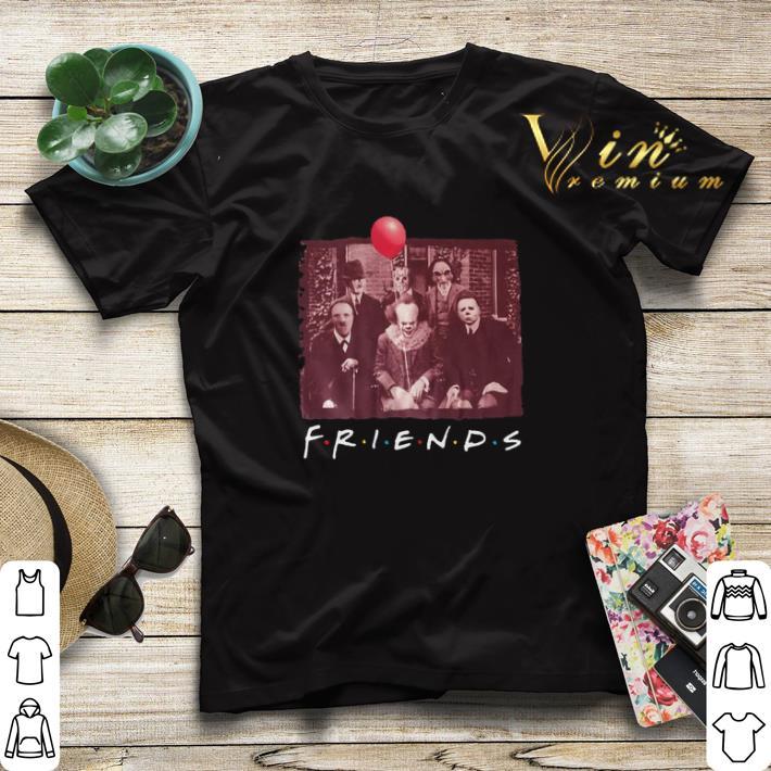 Horror film characters Friends shirt 4 - Horror film characters Friends shirt