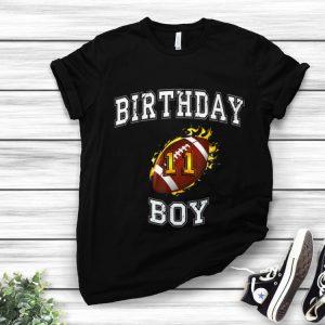 Hot 11th Birthday Boy USA Football shirt