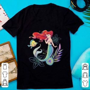 Hot Disney The Little Mermaid Ariel And Flounder Sea shirt