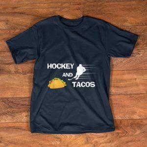 Hot Hockey And tacos Sport shirt