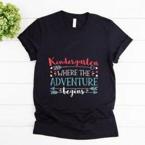 Hot Kindergarten Where the Adventure begin shirt