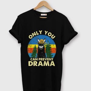 Hot Llama Only You Can Prevent Drama Vintage shirt
