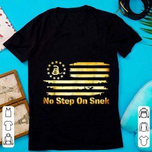Hot No Step On Snek Snake Gadsden Betsy Ross Flag shirt