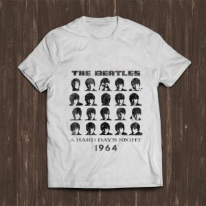 Hot The Beatle A hard Day's night 1964 shirt