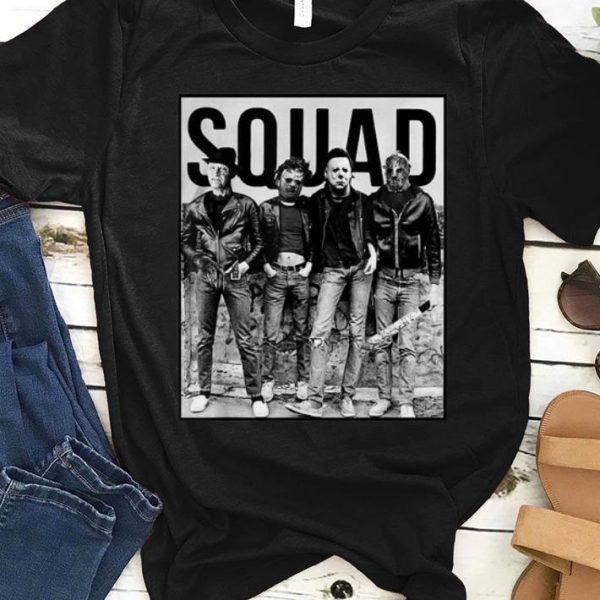 Nice Squad Halloween Horror Movie shirt
