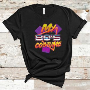 Official 80's Costume Last Minute Halloween 1980's Party Men Women shirt