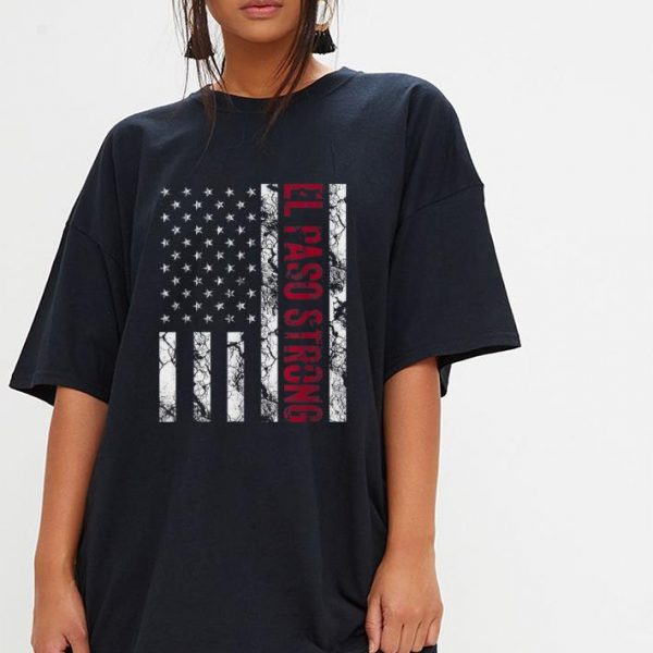 Official El Paso Strong American Flag shirt