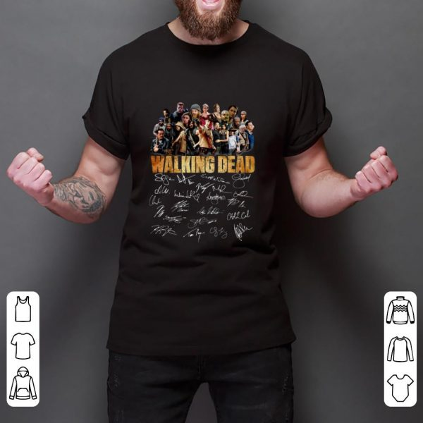 Official The Walking Dead Signature shirt