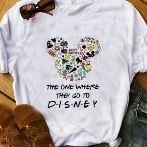 Original Disney Mickey The One Where they Go To shirt