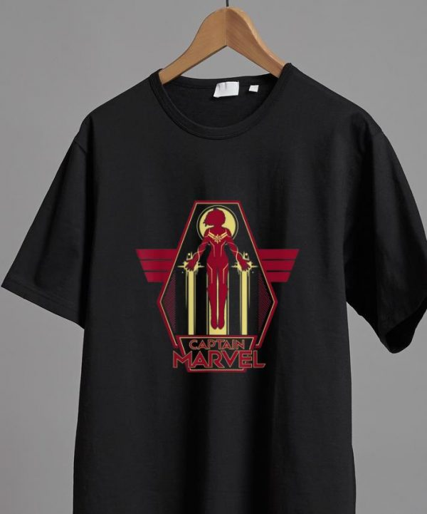 Original Marvel Captain Marvel Airborne Carol Danvers shirt