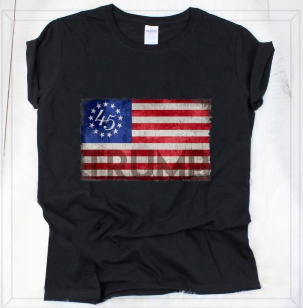 Premium Betsy Ross Flag Donald Trump 2020 shirt