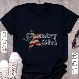 Premium Country Girl American Star shirt