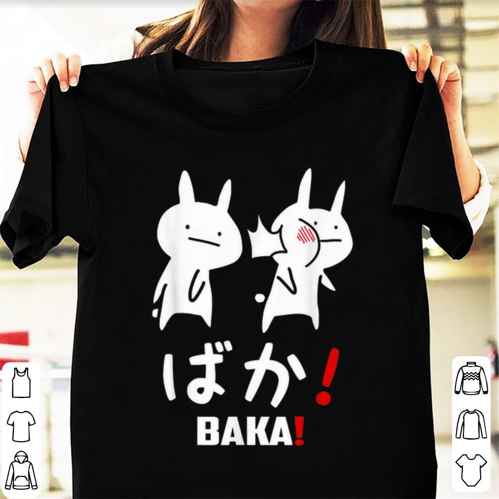 Premium Kawaii Neko Baka Japanese Word shirt 1 - Premium Kawaii Neko Baka Japanese Word shirt
