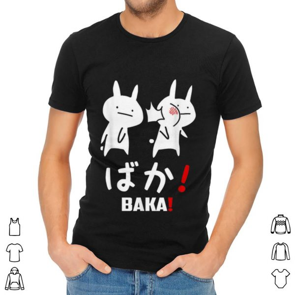 Premium Kawaii Neko Baka Japanese Word shirt