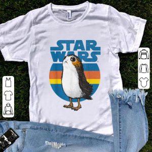 Premium Star Wars Last Jedi Porg Retro shirt