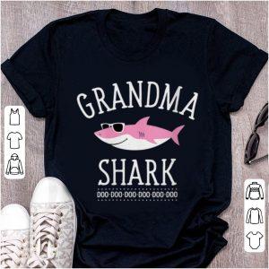 Pretty Grandma Shark Doo Doo Doo Sunglass shirt