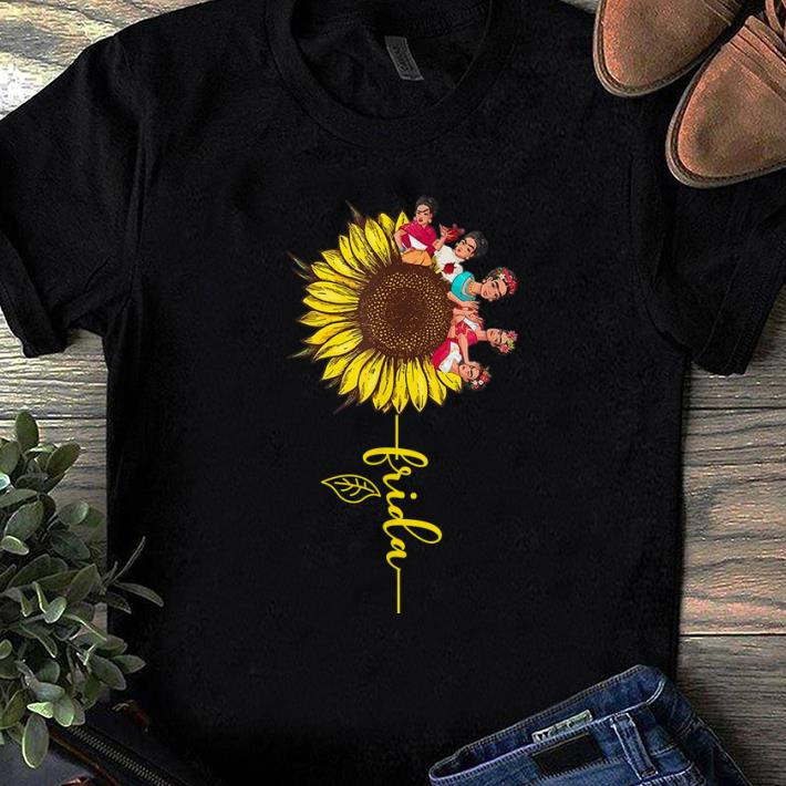 Pretty Sunflower Frida Kahlo shirt 1 - Pretty Sunflower Frida Kahlo shirt