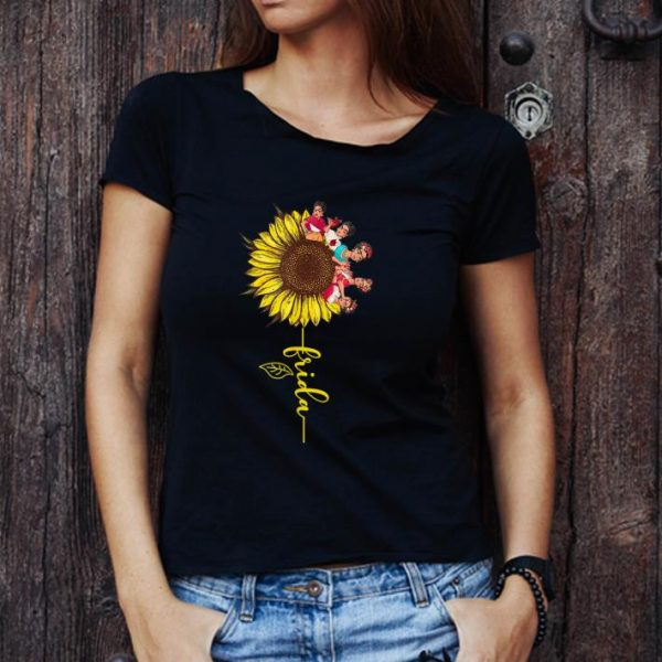 Pretty Sunflower Frida Kahlo shirt