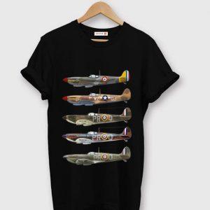 Pretty Supermarine Spitfire Fighter WWII shirt
