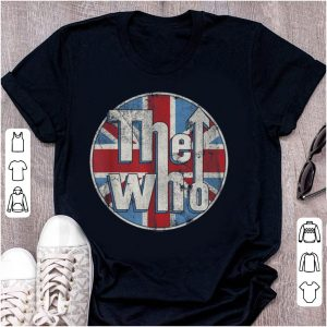 Pretty The Who Union Jack Circle Logo shirt