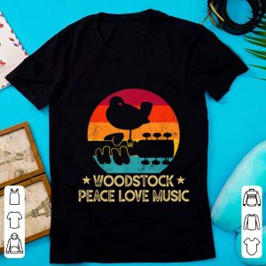 Pretty Vintage Woodstocks Peace Love Music shirt