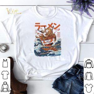The Great Ramen off Kanagawa shirt sweater