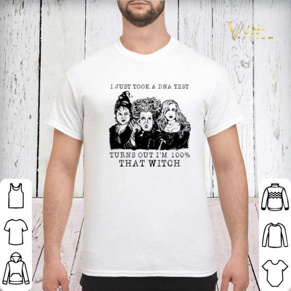 Three sisters i just took a DNA test Hocus Pocus halloween shirt sweater