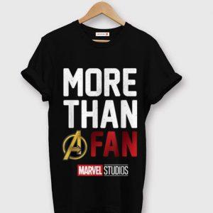 Top Avengers More Than A Fan Marvel Studio shirt