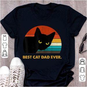 Top Best Cat Dad Ever Vintage shirt