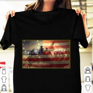 Top Betsy Ross Battle Flag 13 Colonies shirt