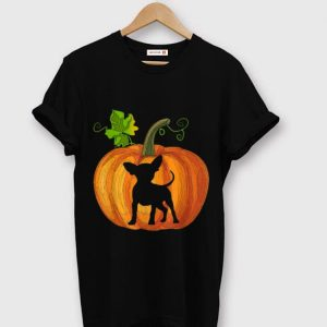 Top Chihuahua In Pumpkin Funny Halloween Dog Lovers Gift shirt