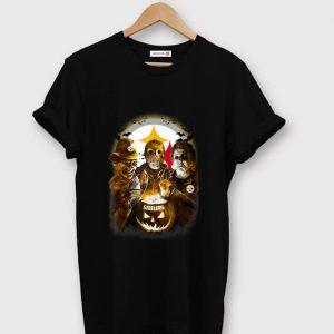Top Jason Michael Myers Freddy Krueger Pittsburgh Steelers shirt
