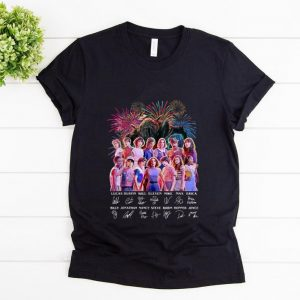 Top Thank You For The Memories Stranger Things Firework Signature shirt