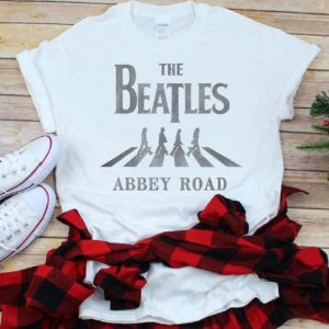 Top The Beatles Abbey Road shirt