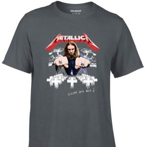 Awesome Cliff Burton Cliff Em All Metallica shirt