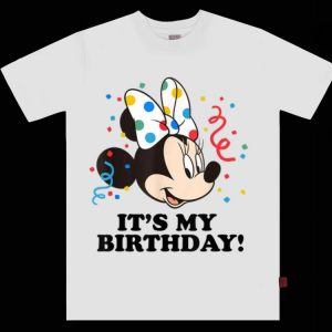 Awesome Disney Minnie Mouse It's My Birthday shirt