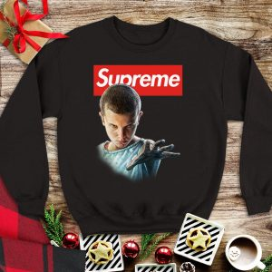 Awesome Eleven Stranger Things Supreme shirt