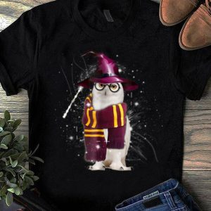 Awesome Funny Cute Owl Harry Magical Wizard Potter shirt