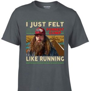 Awesome I just felt forrest gump like running Valencia Marathon shirt