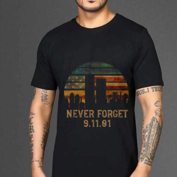 Awesome Never forget Patriotic 911 American Flag Vintage shirt