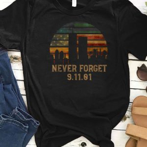 Awesome Never forget Patriotic 911 American Flag Vintage shirts