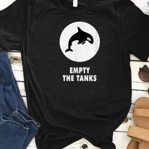 Awesome Orca Maritime Preservation Empty The Tanks Killer Whale shirts