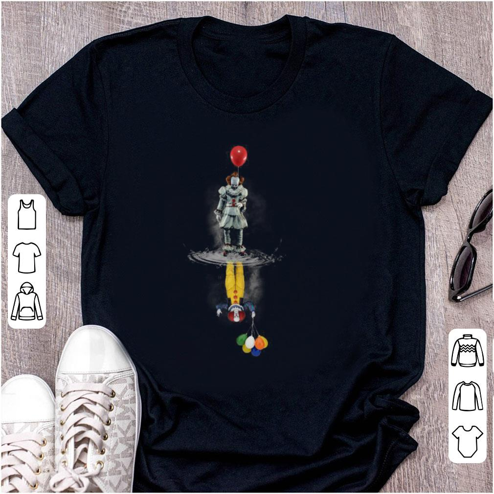 Awesome Pennywise Water Reflection Mirror shirt 1 - Awesome Pennywise Water Reflection Mirror shirt